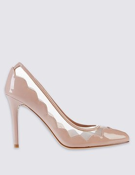 Marks and Spencer Stiletto Mesh Court Shoes