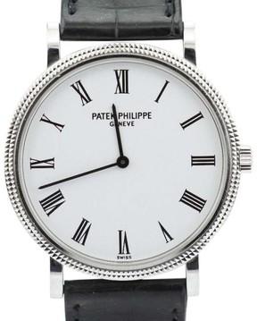 Patek Philippe Calatrava 5120G 18K White Gold Automatic Watch
