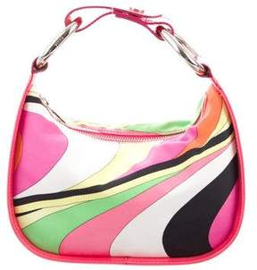 Emilio Pucci Printed Leather-Trimmed Bag