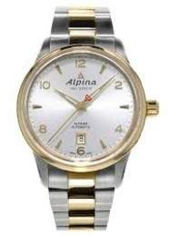 Alpina Alpiner Two-Tone Stainless Steel Silver Dial Men's Automatic Watch