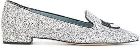 Chiara Ferragni Logomania pointed toe slippers