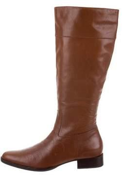 Lauren Ralph Lauren Leather Knee-High Boots
