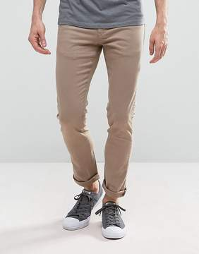 Loyalty And Faith Skinny Fit Jeans with Light Abbrasions in Stone