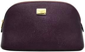 Dolce & Gabbana Leather vanity case