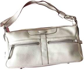 Tod's White Leather Handbag