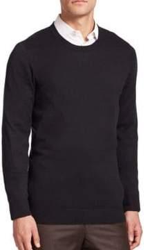 Saks Fifth Avenue COLLECTION Silk-Blend Crewneck Sweater