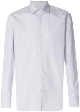 Barba micro-striped slim-fit shirt