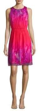 Elie Tahari Demetria Fit-&-Flare Dress