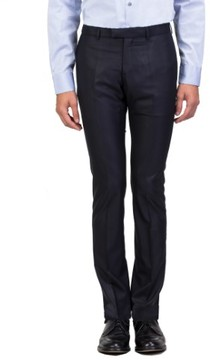 Christian Dior Men's Slim Fit Dress Trousers Pants Navy