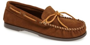 Minnetonka Men's Suede Camp Moccasin
