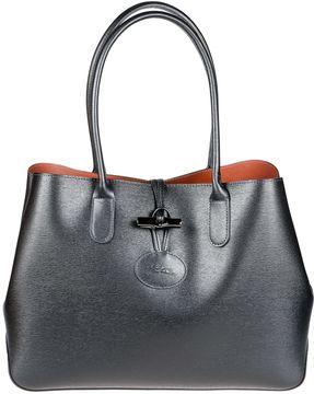 Longchamp Rouseau Tote - BLACK - STYLE