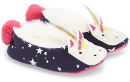 Joules Girl's Faux Fur Character Slipper