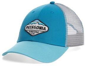 Patagonia Men's 'Fitz Roy Crest' Trucker Hat - Blue