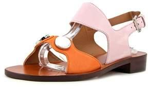 Carven Sandales Plates Open-toe Synthetic Slingback Sandal.