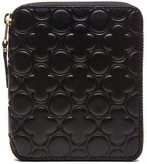 Comme des Garcons Star Embossed Classic Wallet
