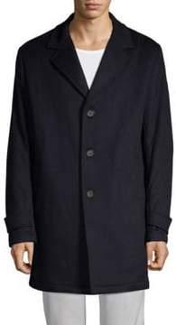 Paul & Shark Notch Collar Coat