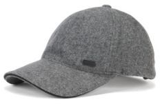 HUGO BOSS Wool Baseball Cap Winter Cap One Size Grey