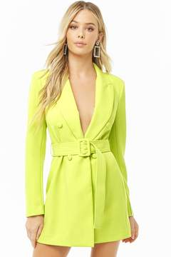 Forever 21 Belted Double-Breasted Mini Dress