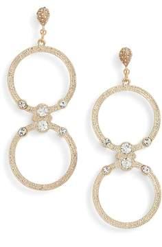 Ettika Women's Double Hoop Earrings
