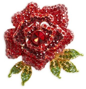 Cara Rose Crystal Hair Pin