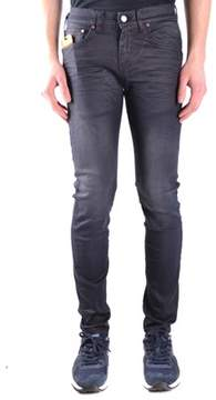Brian Dales Men's Mcbi441017o Black Cotton Jeans.