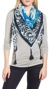 Tory Burch Tassel Wool & Silk Scarf