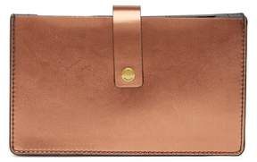 Fossil Copper Vale Leather Wallet