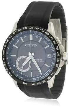 Citizen Eco-Drive Satellite Wave Silicone Mens Watch CC3005-18E