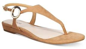 Alfani Womens Honnee Open Toe Casual Ankle Strap Sandals.