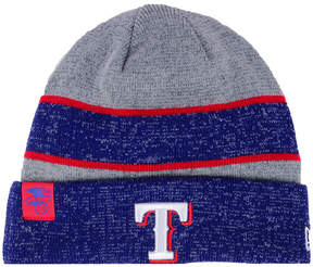 New Era Texas Rangers On Field Sport Knit Hat