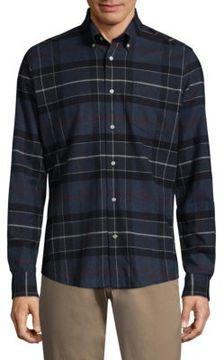 Barbour Woven Tartan Casual Cotton Button-Down Shirt
