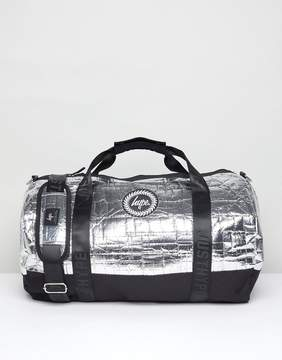 Hype Carryall In Silver Foil