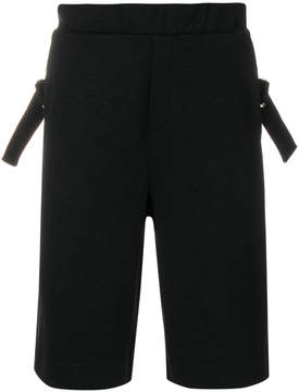 McQ buckle embellished shorts