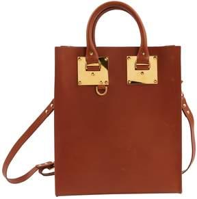 Sophie Hulme Camel Leather Handbag