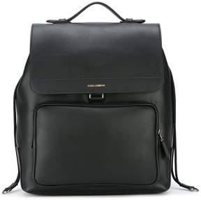 Dolce & Gabbana flap backpack