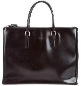 Anya Hindmarch Patent Leather Ebury Tote