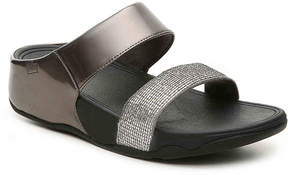 FitFlop Women's Lulu Super Glitz Wedge Sandal
