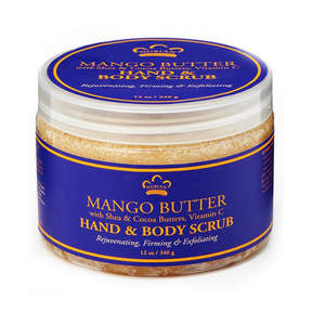 Nubian Heritage Mango Butter Body Scrub by 12oz Scrub)