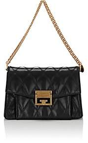 Givenchy Women's GV3 Small Leather Shoulder Bag-Black