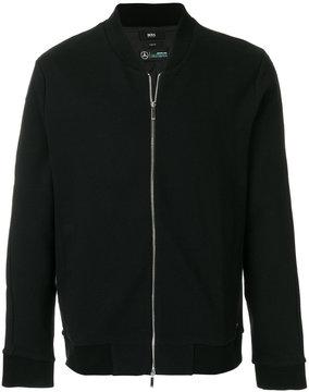 HUGO BOSS zipped bomber jacket