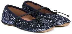 Pépé lace up slippers