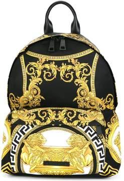 Versace La Coupe des Dieux print backpack