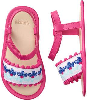 Gymboree Pink Flower Sandal - Girls