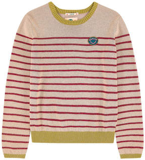 Scotch & Soda Striped sweater with lurex