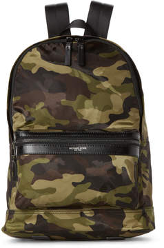 Michael Kors Kent Nylon Camo Backpack