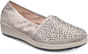 White Mountain Lewis Embellished Wedge Sneakers Women's Shoes