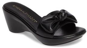 Athena Alexander Women's Pattye Knotted Slide Sandal