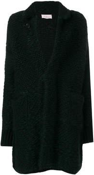 A.F.Vandevorst buttoned cardi-coat