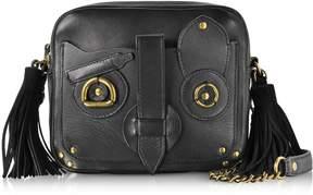 Jerome Dreyfuss Black Leather Pascal Shoulder Bag