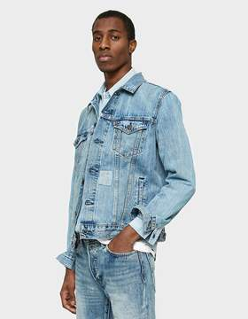 Levi's The Trucker Jacket in Shadow Puzzle